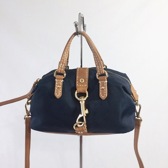 Tommy Hilfiger Handbags - Tommy Hilfiger Crossbody Nylon and Faux Leather